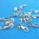 Wholesale 5/10Pcs Silver Plated Lobster Claw Clasps Hooks Jewelry Findings