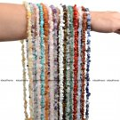 Natural 5-8mm Freeform Gemstone Chips Beads For Jewelry Making Strand 31''