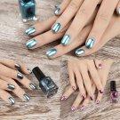 Fashion Womens Metallic Magic Mirror Chrome Effect Silver Nail Art Nail Polish