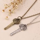 Detective Sherlock Sherlock Holmes The Key to 221B Vintage Chain Necklace