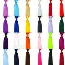 Casual Slim Plain Mens Solid Skinny Neck Party wedding Tie Silk Necktie