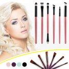 6pcs Makeup Cosmetic Brushes Eyeshadow Eye Shadow Foundation Blending Brush