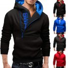 Hot Men Winter Slim Warm Hooded Sweatshirt Coat Hoodie Jacket Outwear Sweater