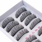 10 Pairs Makeup Handmade Natural Fashion Long False Eyelashes Beauty Eye Lashes