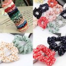 10pcs Women's Fashion Polka Dot Hair Band Hair Tie Elastic Headband Hair Rope