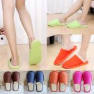 New Women Men Anti-Slip Flat Shoes Soft Winter Warm Cotton House Indoor Slippers