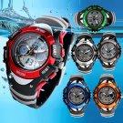 SKMEI Kid Boy's Outdoor Sport Multifunction Analog Electronic Quartz Wrist Watch