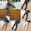 Ladies Women Winter Knitted Over knee Long Boot Thigh-High Warm Socks Leggings