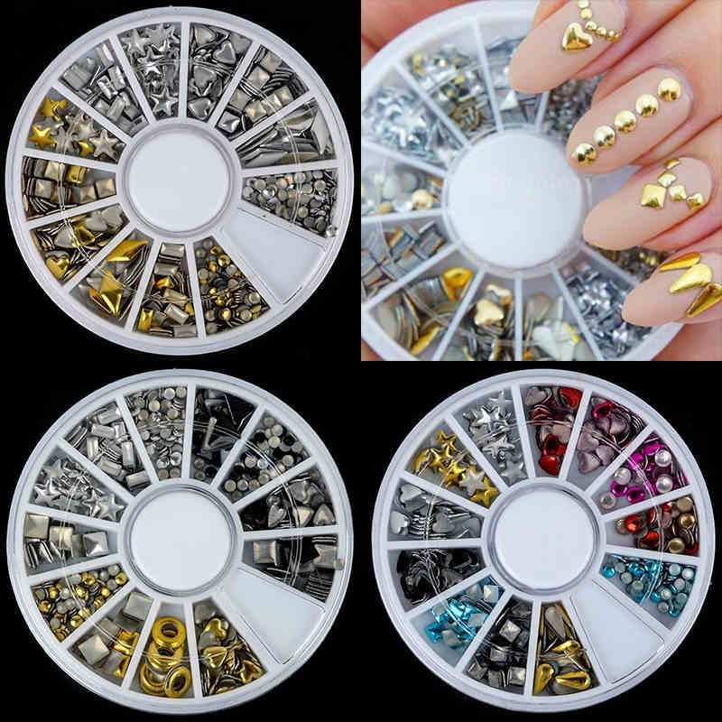 3D New Nail Art Rhinestones Glitters Acrylic Tips Decoration Manicure Wheel