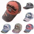 New Unisex Mens Womens Vintage Baseball Cap Adjustable Denim Trucker Sun Hat Cap