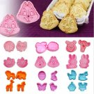 Creative Disney Cartoon Animal Cookies Mould  Tool Set Cake Fondant Mold Baking
