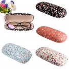 Floral Protable Sunglasses Hard Eye Glasses Case Eyewear Protector Box Pouch Bag