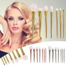 7Pcs/set Professional Set Brush Powder Foundation Brushes Makeup Brush Metal