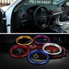 4pcs Stainless Steel Air Condition Vent Outlet Cover Trim Ring for Audi A3