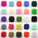 New 100g Super Soft Smooth Chunky Acrylic Double Knitting Wool Yarn Skein Ball