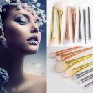 1pc/7pcs Makeup Cosmetic Foundation Blush Face Powder Contour Brushes Set Tool