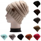 Fashion Women Crochet Beanie Wool Winter Warm Cap Warm Knit Knitted Ski Hat