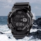 Mens LED Digital Date Alarm Waterproof Sports Army Watch Wristwatch