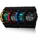 Fashion Men's Waterproof Digital Alarm Date Sport Analog Watches LED Backlight
