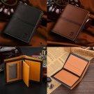 Men Leather Wallet Pocket ID Card Holder Billfold Slim Clutch Bifold Purse Gifts
