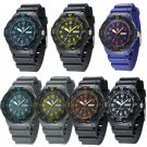 Fashion Men Watch Waterproof Date Resin Army Sport Analog Quartz Wrist Watches