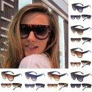 Fashion Women Men Cat Eye Style Plastic Frame UV400 Sunglasses Eyewear Glasses