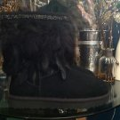 UGG Women's Classic SHORT PEACOCK BOOT w/Swarovski Crystal  Size 10 $320 MSRP
