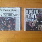 New England Patriots Superbowl LI Boston Globe Newspaper & Herald  Feb 6th 2017