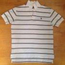 Ralph Lauren Polo Men's Black/White Collard Mesh Short Sleeve Shirt Size Small