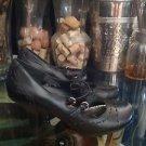 Style & Co Women's Black Leather Lenete  Size 6M Kitten Heel Mary Jane's