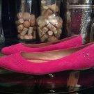 UGG Women's Lorelei Fushia /Pink Studded Flats Size 10 Model 1015386W / FUS  NIB