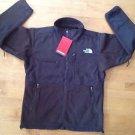 The Northface Men's Fleece Denali  Jacket  Dark Brown  Size Large