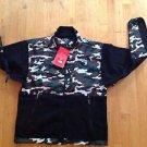 Northface Men's Denali Fleece Black W/ Army Camouflage / Military  Size Medium