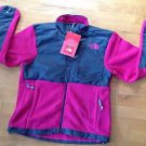 The  Northface Women's Fleece  Denali Pink and Gray Size Medium Brand New