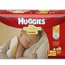 Huggies Little Snugglers Baby Diapers Size Preemie 6 X30= 180 Count up to 6 Lbs