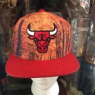 Chicago Bulls  Mitchell & Ness Snapback  Multi Color NBA Hat-Burnt Orange/Black