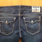 True Religion Men's Straight Leg Jeans Size 38 X 34