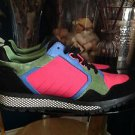 GUCCI Multi Color Men's  Sneakers Model 368488 Size 8.5 G LIMITED $590