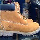 Timberland Wheat Classic Boots Size 13 Nubuck Suede 6 in Premium Model TB0 10061