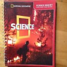 National Geographic Grade 4 Science Inquiry /Writing Book School Publishing 2011