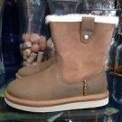 UGG Australia Kids Haydee Suede Boots Size 1 Model 1013286K NIB