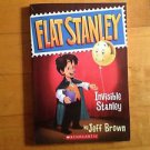 FLAT STANLEY Invisible Stanley by Jeff Brown SCHOLASTIC 2009 PAPERBACK