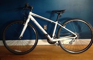 Specialized 2014 Women's Vita Size Small/40CM Road Bike 8/9 Speed White/Silver