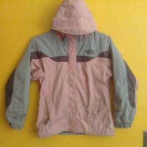 Northface Girls Size Medium Pink/ Grey  HyVent
