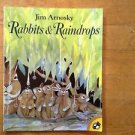 Rabbits and Raindrops by Jim Arnosky (2001, Paperback)