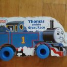 Thomas and the Great Race by Wilbert V. Awdry (1989, Board Book)