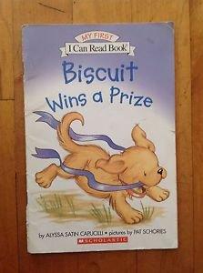 Biscuit Wins a Prize by Alyssa Satin Capucilli Scholastic 2004 Paperback