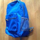 Blue Backpack/Bookbag / Hiking Bag  Includes Side Water Holder