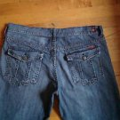 Seven 7 For All Mankind Boot Cut Men's  Vintage Jeans Size 36 Medium Wash