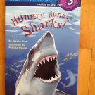 Step into Reading Hungry, Hungry Sharks ! By Joanna Cole Level 3 Paperback 1986